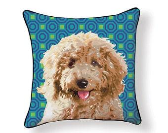 Pooch Décor: Labradoodle Pillow