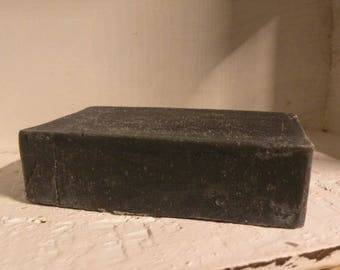 Activated Charcoal Soap  -  Handcrafted All Natural Soap  -  Charcoal Soap