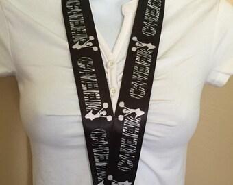 Cheerleader lanyard, ID holder, key holder