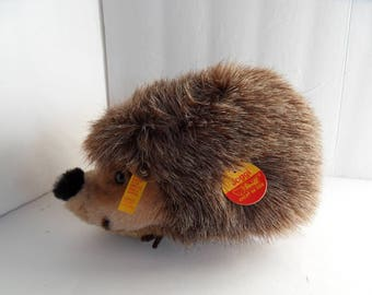 Steiff hedgehog porcupine all IDs made in Germany 2309