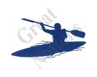 Kayak - Machine Embroidery Design