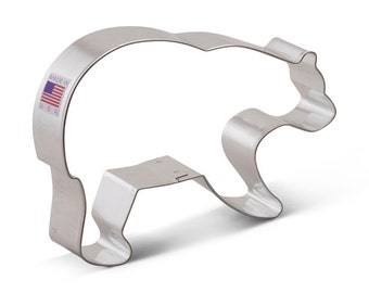 Bear Cookie Cutter, Grizzly Bear Cookie Cutter