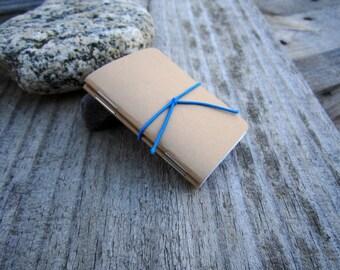 Blank Refill {Mini Size} Traveler's Notebook Journal Insert, Set of 2, Pocket size, Midori Style