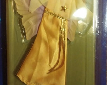 Tonka Star Fairies Outfit New in Package Golden Glow Evening Gown