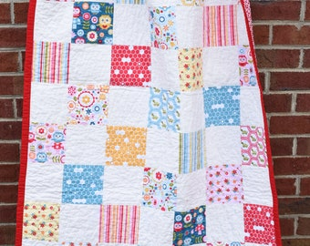 Owls Baby Quilt