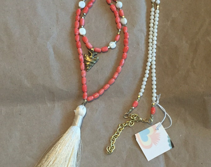 Coral Coralle necklace