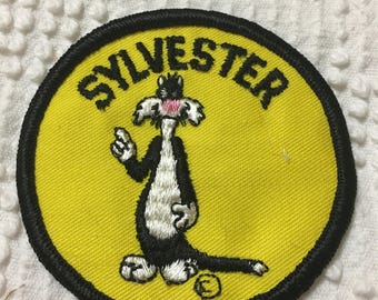 SYLVESTER THE Cat Looney Tune PATCH Mint Character Collector Item