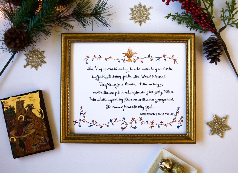 the virgin cometh hymn nativity advent illuminated. Black Bedroom Furniture Sets. Home Design Ideas