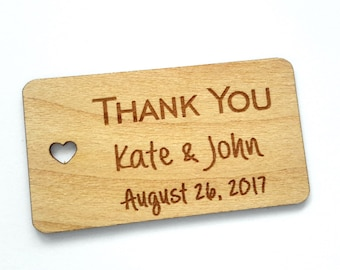 Wood Gift Tags, Wedding Favor Tags, Wooden Tags, Gift Tags, Shower Favor Tags, Wooden Hang Tags, Custom tags, Personalized tag, Wedding tags