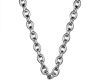 "16"" 925 Sliver Chain with findings."