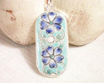 P O S I E S - Porcelain Necklace