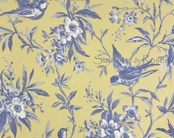 DIGITAL DOWNLOAD Printable ArT Antique Birds – INSTANT Background Print - Scrapbooking Paper Junk Journal Paper Crafts Altered Art DD132
