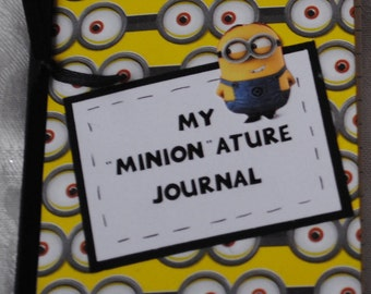 Personalized Minions Mini Altered Composition Journal