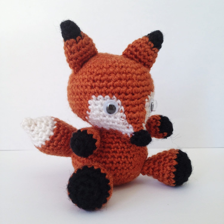 Fuchs Muster Tier Zorrito Amigurumi Baby einfach einfache DIY