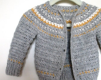 Easy Fair Isle Style Crochet Pattern No. 9