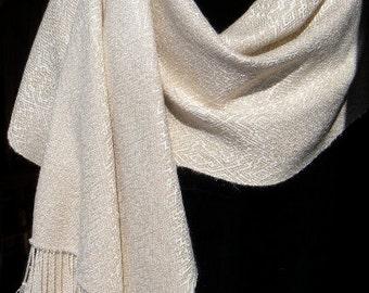 Silk Shawl, Handwoven Silk Shawl, Wedding Shawl, Ladies Wrap, Bridal Wrap,  Stole, Wrap, Bolero, Evening Shawl, Dress Shawl, Handwoven Wrap