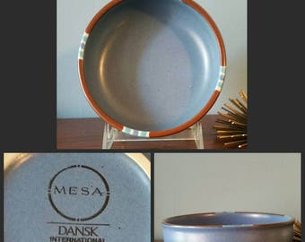 Dansk mesa bowl in sky blue. & Dansk mesa | Etsy