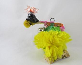 "Dodo Bird Hanging Ornament, ""Jeffrey."""