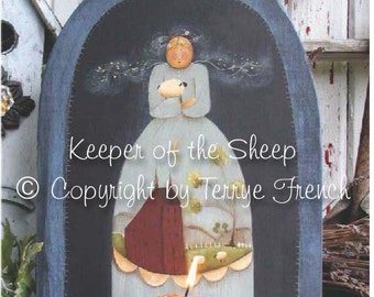 Keeper of the Sheep by Terrye French , E-Pattern