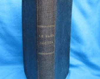 Antique book * the Kama Sutra * theology Hindu - 1926