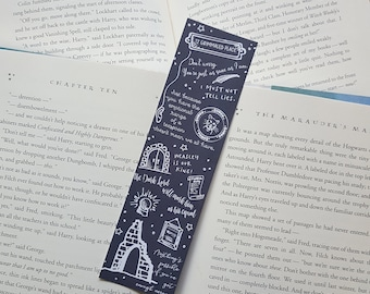 Harry Potter and the Order of the Phoenix inspired bookmark  - Bookmark