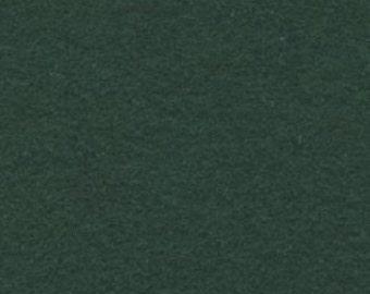 "18"" x 24"" Hunter Green Acrylic Felt FQ - equal to 4 Sheets Felt"