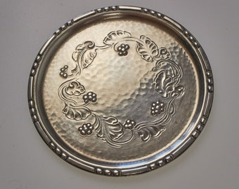 4 antique Georg Jensen sterling silver coasters made 1929-34