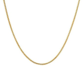 MOTHERS DAY SALE 14k gold rope chain necklace