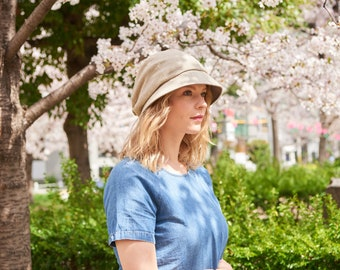 All Season Sun Hat with 100% Organic Cotton and Wide Brim. Great Beach and Summer Head Wear. Reversible Foldable Sun Hat for Women | ca-nop