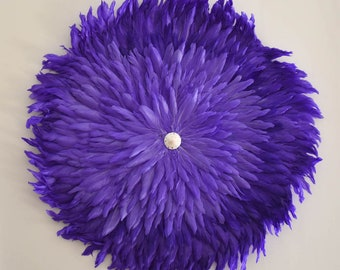 Juju purple feather