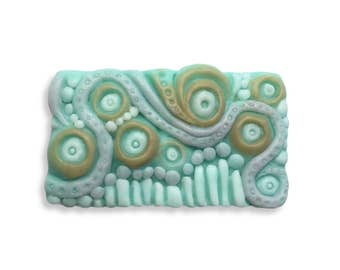Abstract Design Soap || Hand Sculpted Soap || Bathroom Decor