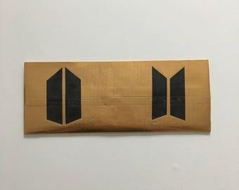 BTS Duck Tape Wallet