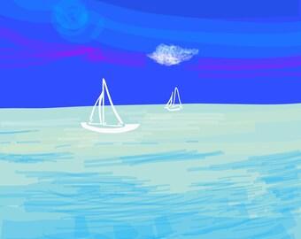 Fiji sailboats