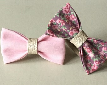 Pink and Floral Bow Bobblr