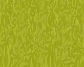 Green Wood Fabric, Riley Blake Happy Harvest C4035 Green, Doodlebug Design, Green Wood Grain Quilt Fabric, Woodland Fabric, Cotton Woodgrain