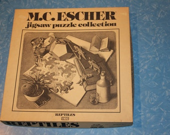 Vintage New York M.C. Escher Jigsaw Puzzle
