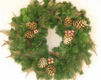 Evergreen Winter Wreath