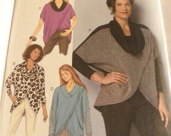 Butterick Pattern 6291 Ladies Top pullover  new uncut size Xsm-Sml-Med 2015