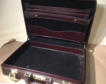 Cartable Vintage - valise - travail - Bureau - Stradellina - fiducie familiale