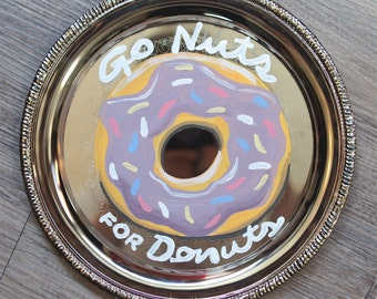 Go Nuts for Donuts Plate