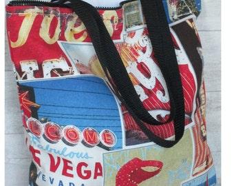Pocket Las Vegas long-handle zipper
