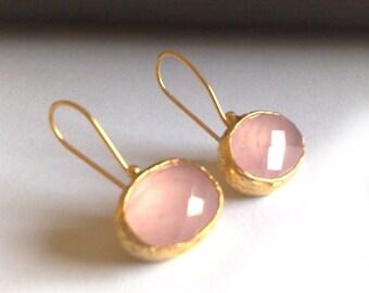 Pink Drops of Joy Earrings