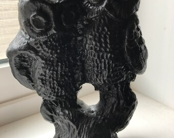 "Vintage OWL Couple Figurine - Canada Coal 5"" Height"
