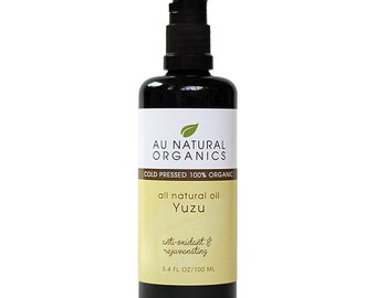 Yuzu Oil Organic for Skin Repair, 3.4 oz (100 ml)