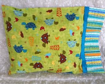 Turtles Travel Pillowcase