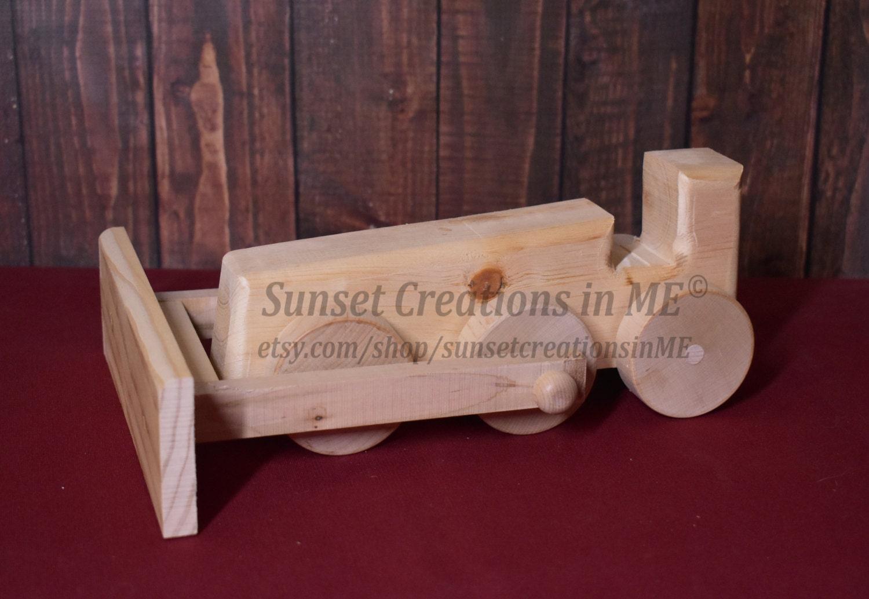 Planierraupe hölzerne Baumaschinen Bau Spielzeug