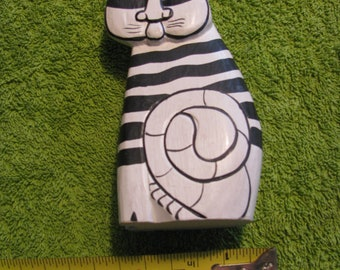 Vintage Kliban Cat Folk Art - rare!