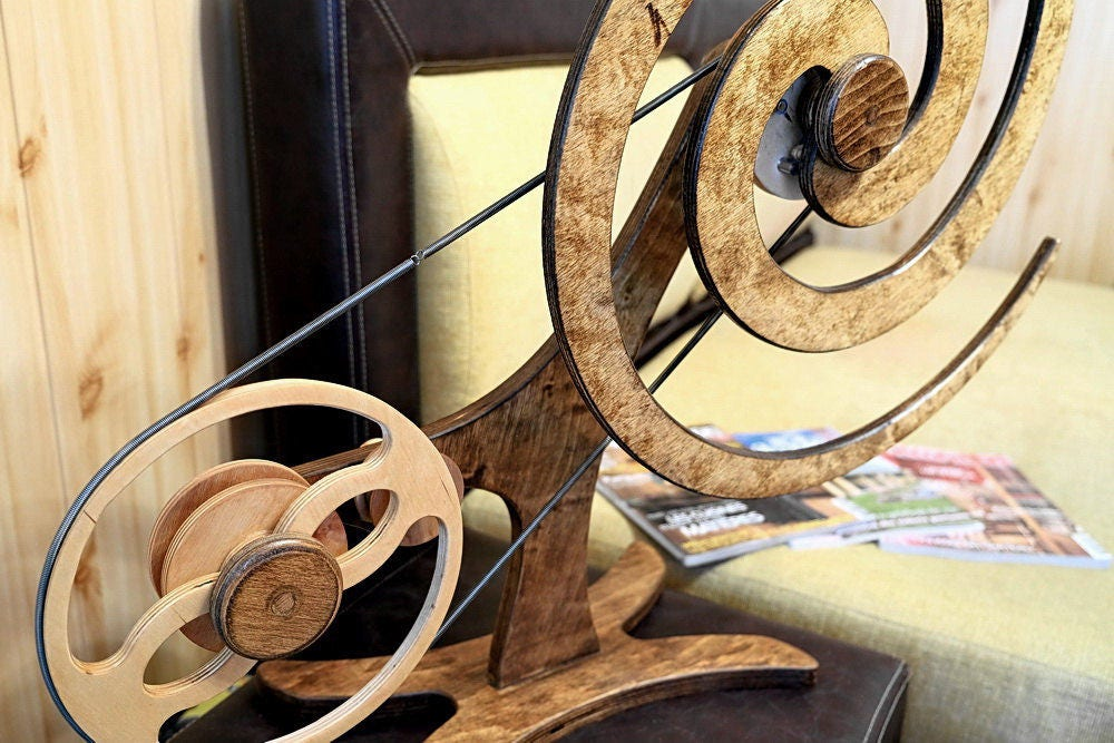 Wooden Kinetic Sculpture Wall ART Kinetic plywood ART VORTEX