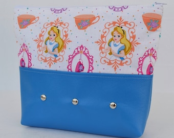 Alice's Tea Party Makeup Bag