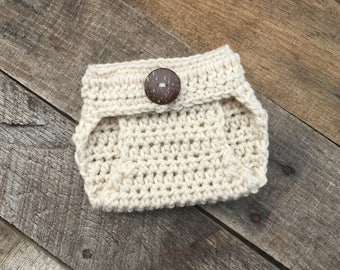 Baby Diaper Cover, Crochet Baby Diaper Cover  - ANY COLOR